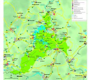 map Vogelsang