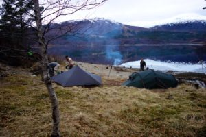 Wildkamperen Glen Affric