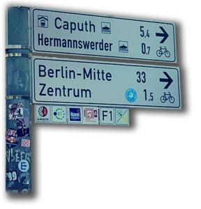 Fietsen naar Berlijn